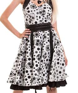 Kleider mit Totenkopf Design