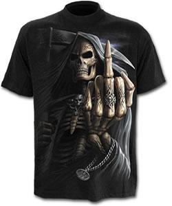t shirt mit totenkopf