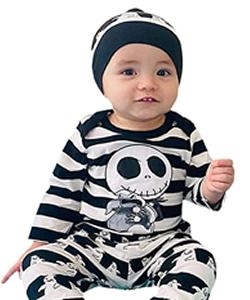 Totenkopf Kleidung für Baby